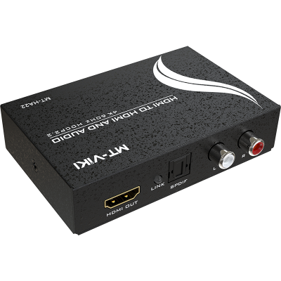 MT-HA22 4K HDMI to HDMI+SPDIF+L/R audio converter